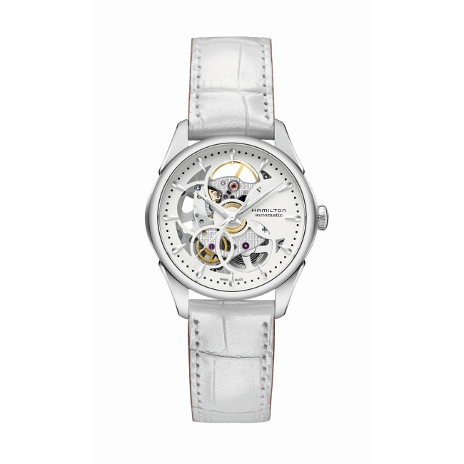 Hamilton Jazzmaster Viewmatic Skeleton H32405811