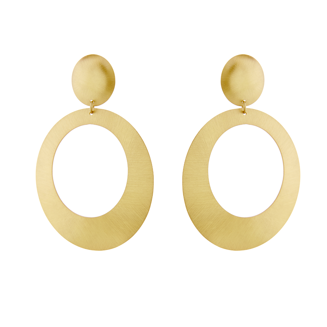Li La Lo Gold Plated Silver 925 Earrings SAS6002